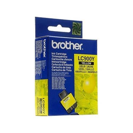Brother LC900Y Yellow Original Print Cartridge