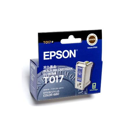 Epson T017 (T017402) Black Original Ink Cartridge Twin Pack (Sunflower)