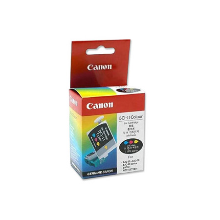 Canon BCI-11C Colour 3 Pack Original Cartridge