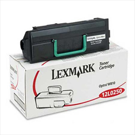Lexmark 12L0250 Original Black Toner Cartridge