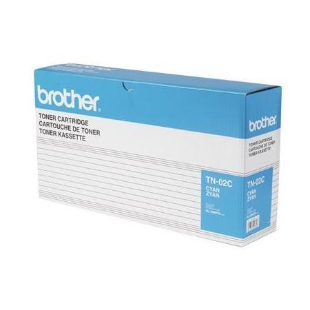 Brother TN02C Cyan Original Toner Cartridge