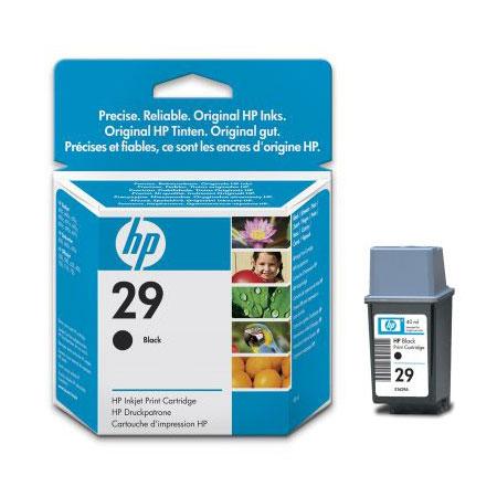 HP 29 Black Original Inkjet Print Cartridge