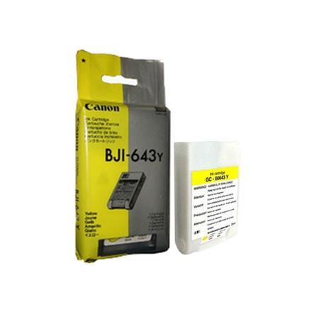 Canon BJI-643Y Yellow Original Cartridge