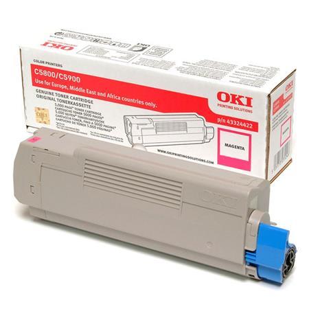 OKI 43324422 Original Magenta Toner Cartridge