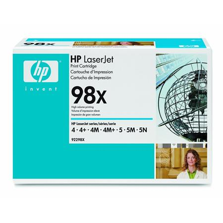 HP LaserJet 92298X Black Original High Capacity Toner Cartridge with Microfine Toner