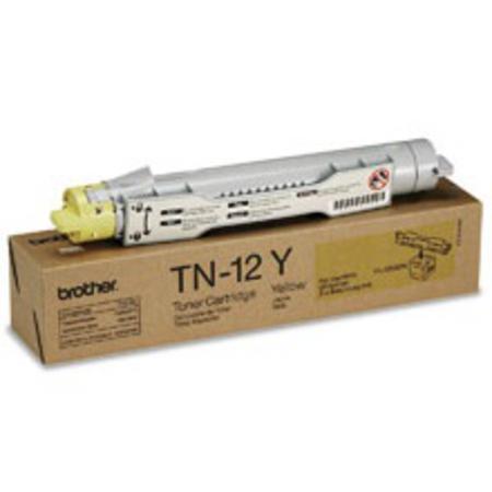 Brother TN12Y Yellow Original Toner Cartridge