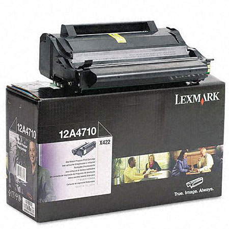 Lexmark 12A4710 Original Return Program Toner Cartridge