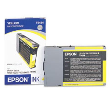Epson T5434 (T543400) Yellow Original Ink Cartridge (110 ml)