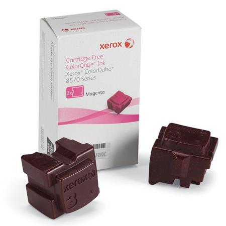 Xerox 108R00932 Magenta Original 2 Sticks Ink Cartridge (8570)