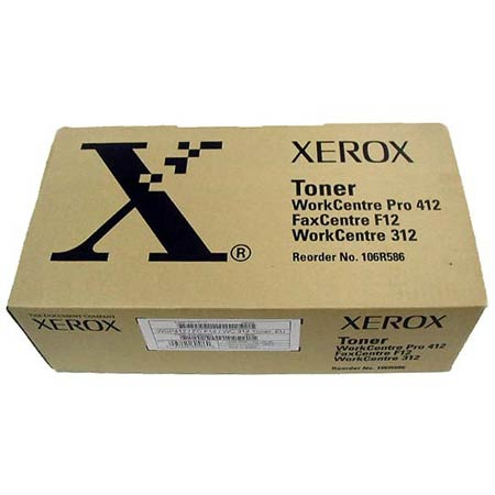 Xerox 106R00586 Original Black Toner Cartridge