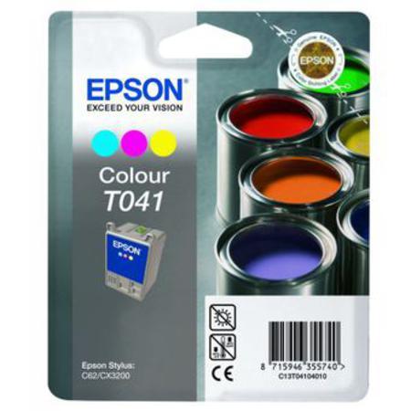 Epson T041 (T041040) Colour Original Ink Cartridge (Paints)