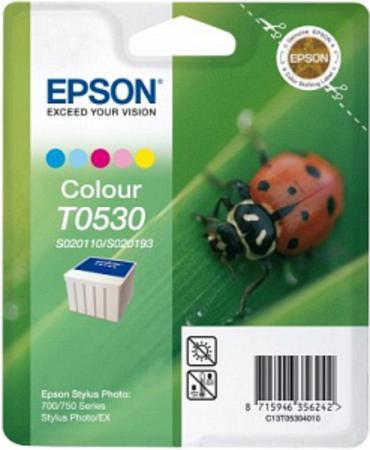 Epson S020110 (T053) 5 Colour Original Ink Cartridge (Ladybird)