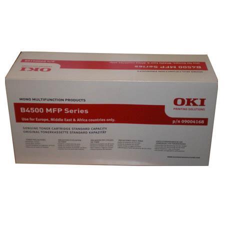OKI 09004168 Original Standard Capacity Black Toner Cartridge