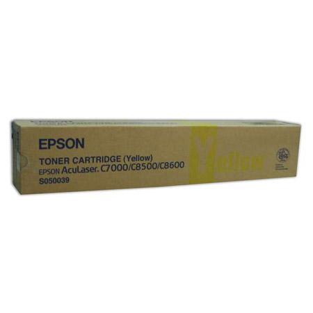 Epson S050039 Yellow Original Laser Toner Cartridge