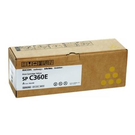 Ricoh 408191 Yellow Original Standard Capacity Toner Cartridge