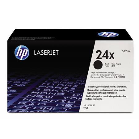 HP LaserJet Q2624X Black Original High Capacity Toner Cartridge with Ultraprecise Technology