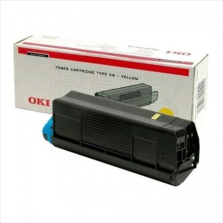 OKI 42127405 Original Yellow High Capacity Toner Cartridge