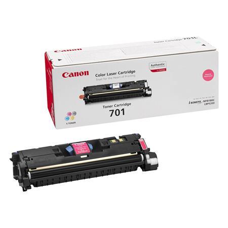 Canon 701 Magenta Original Laser Toner Cartridge
