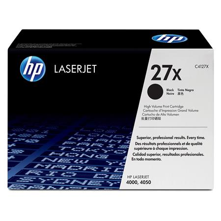 HP LaserJet C4127X Black Original High Capacity Toner Cartridge with Ultraprecise Technology