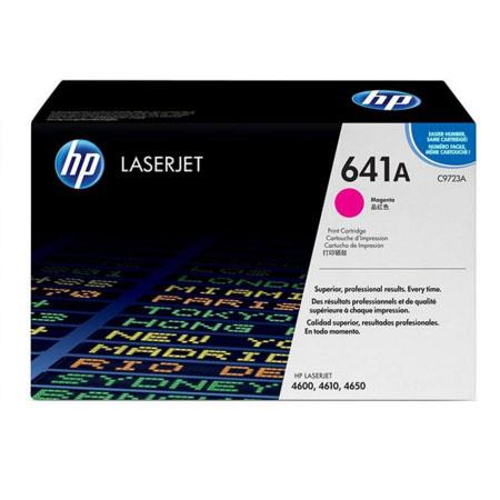 HP Colour LaserJet 641A Magenta Original Toner Cartridge with Smart Printing Technology (C9723A)