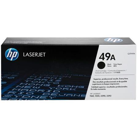 HP LaserJet Q5949A Black Original Standard Capacity Toner Cartridge with Smart Printing Technology