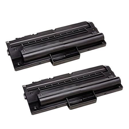 Compatible Twin Pack Samsung  ML-1710D3 Black Toner Cartridges (2 Pack)