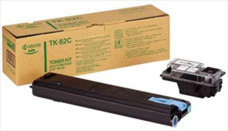 Kyocera TK-82C Original Cyan Toner Kit