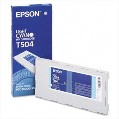 Epson T504 (T504011) Quick Dry Light Cyan Original Ink Cartridge