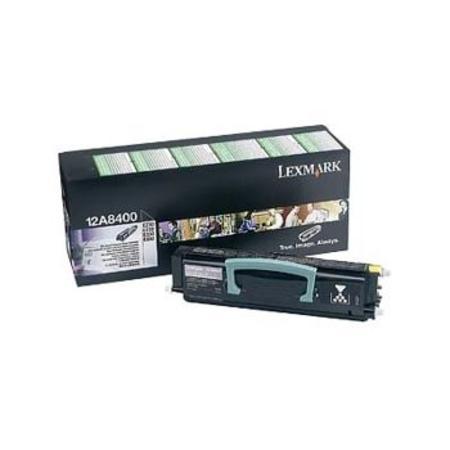 Lexmark 12A8400 Original Black Return Programme Cartridge