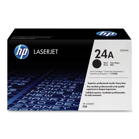HP LaserJet Q2624A Black Original Standard Capacity Toner Cartridge with Ultraprecise Technology