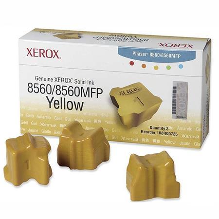 Xerox 108R00725 Original Yellow Ink Sticks (Pack of 3)