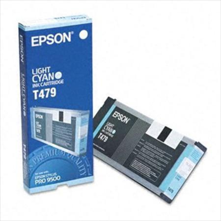 Epson T479 (T479011) Light Cyan Original Ink Cartridge