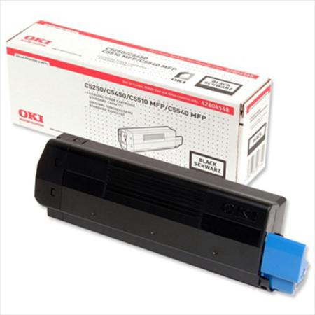 OKI 42804548 Original Black Standard Capacity Toner Cartridge
