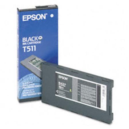 Epson T511 (T511011) Colorfast Black Original Ink Cartridge