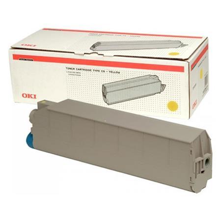 OKI 41963605 Original Yellow Toner Cartridge