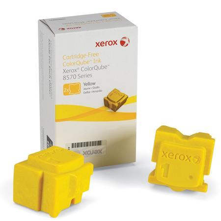 Xerox 108R00933 Yellow Original 2 Sticks Ink Cartridge (8570)