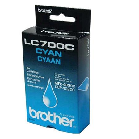 Brother LC700C Cyan Original Print Cartridge