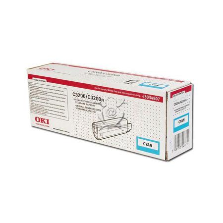 OKI 43034807 Original Cyan Toner Cartridge