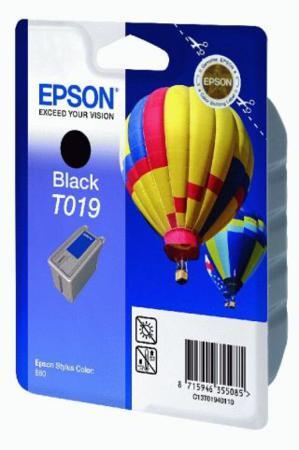 Epson T019 (T019401) Black Original Ink Cartridge (Hot Air Baloon)