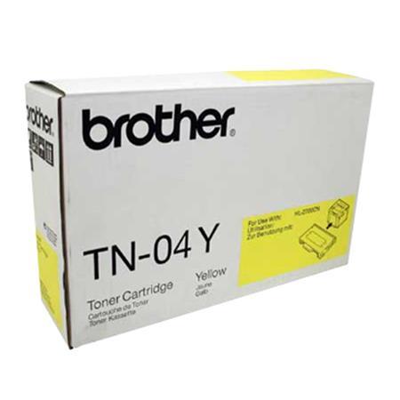 Brother TN04Y Yellow Original Toner Cartridge
