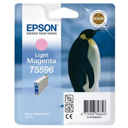 Epson T5596 (T559640) Light Magenta Original Ink Cartridge (Penguin)