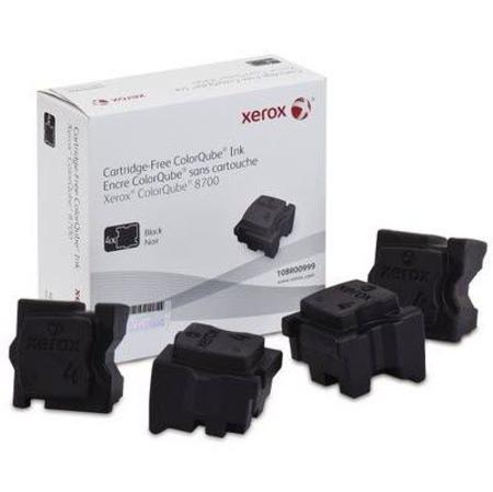 Xerox 108R00999 Original Black Solid Inks (Pack of 4)