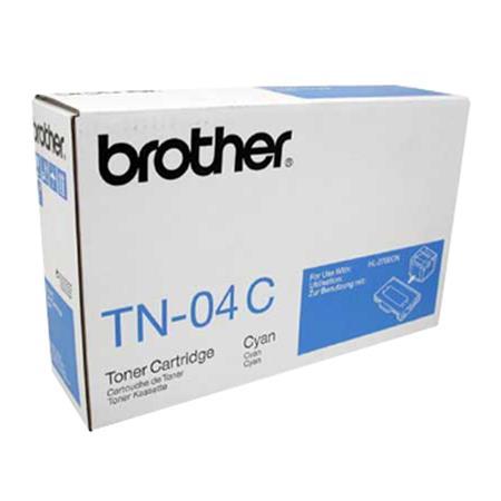 Brother TN04C Cyan Original Toner Cartridge