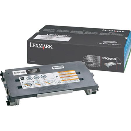 Lexmark C500H2KG Original Black High Capacity Toner Cartridge