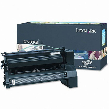Lexmark C7700KS Original Black Return Program Toner Cartridge