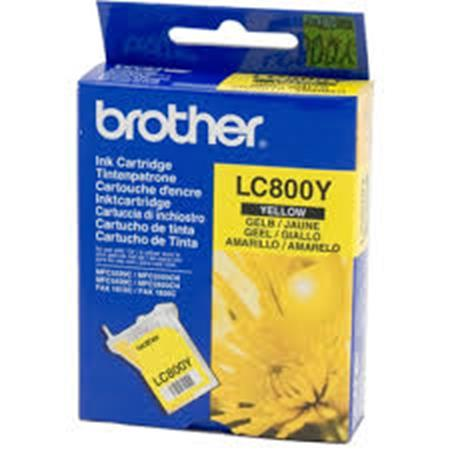 Brother LC800Y Yellow Original Print Cartridge