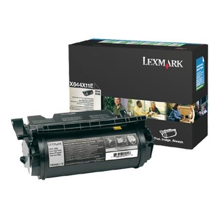 Lexmark X644X11E Original Black Extra High Yield Return Program Toner Cartridge