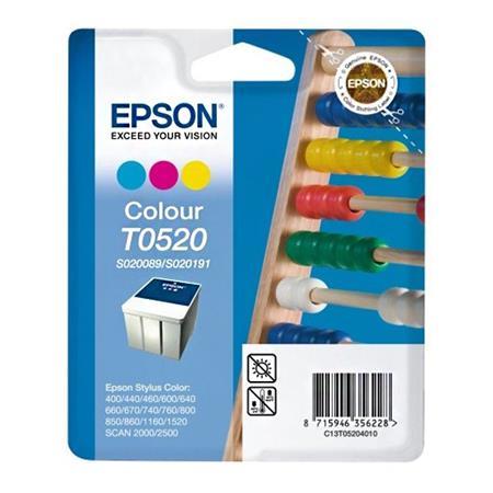 Epson S020191 (T052) Colour Original Ink Cartridge (Abacus)