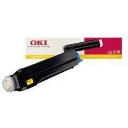 OKI 41012306 Original Yellow Toner Cartridge