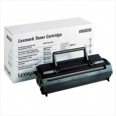 Lexmark 69G8256 Original Black Toner Cartridge
